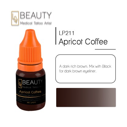 Microblading pigment for permanent makeup Apricot Coffee