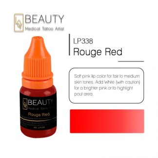 Microblading pigment for permanent makeup Rouge Red