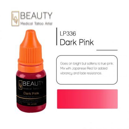 Microblading pigment for permanent makeup Dark Pink