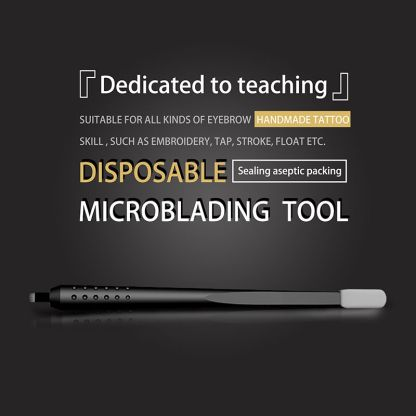 Disposable Microbalding Tool 18U Eccentric with Cotton Brush
