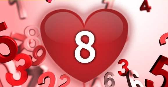 נומרולוגיה - מספר 8 באהבה