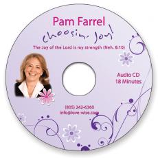 Pam's Choosin' Joy Message CD