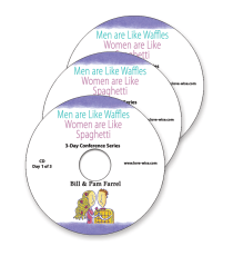 Men Are Like Waffles, Women Are Like Spaghetti 3-Day Conference Audio