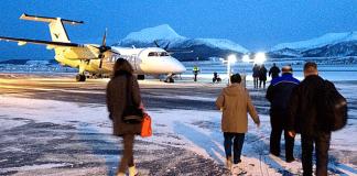 stokmarknes lufthavn skagen avinor flyplass