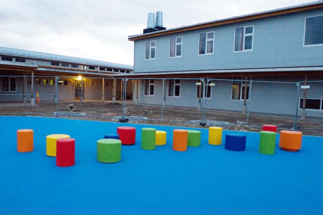 melbu skole skoleplassen