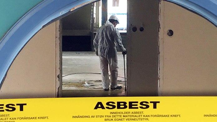 asbest Rødskolen