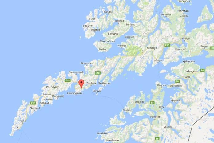 hopen lofoten kart google