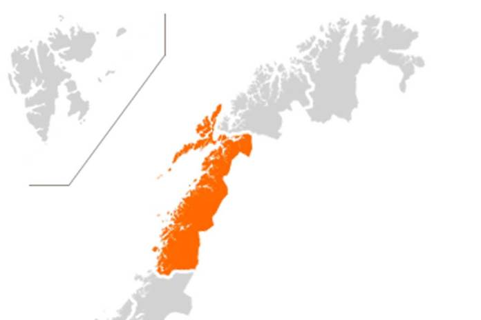 statsbudsjett nordland fylke kart