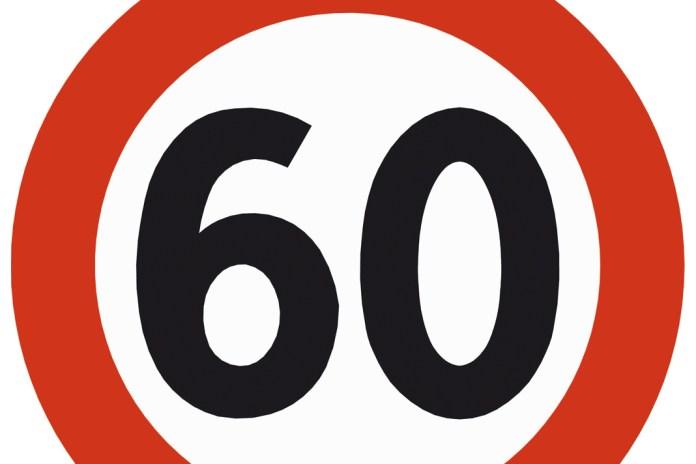 statens vegvesen skilt forbudsskilt 60 fartsskilt