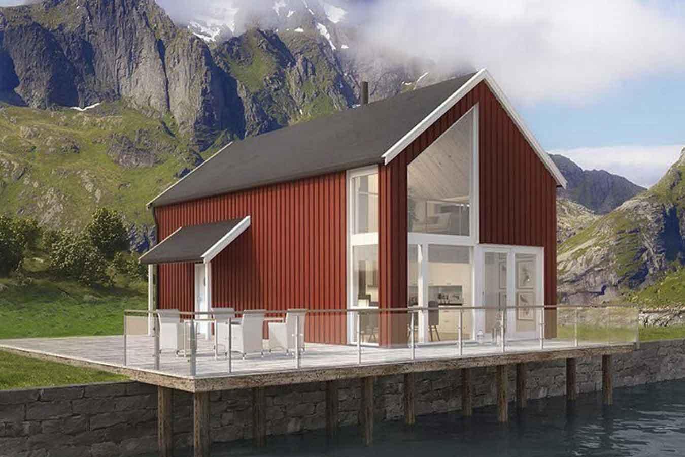 rorbu norgeshus turisme ballstad