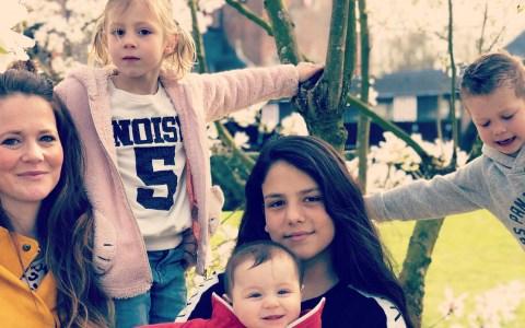 Moeder van vier kinderen - reislustig gezin