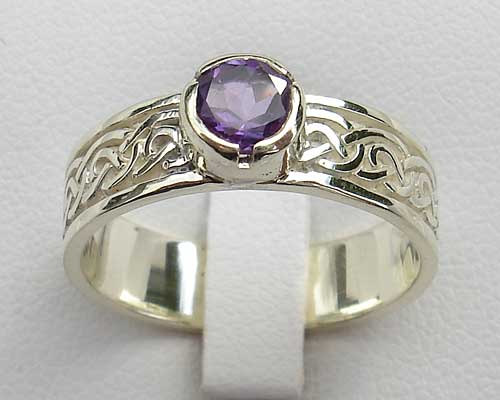 Scottish Thistle Wedding Ring ONLINE In The UK