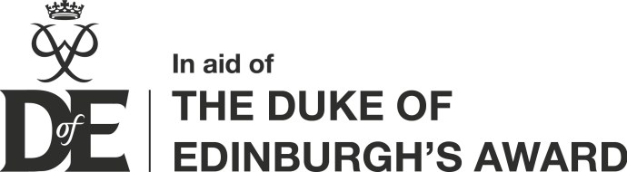 DofE Logo - In Aid of