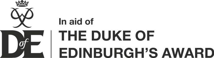 DofE Logo - In Aid of