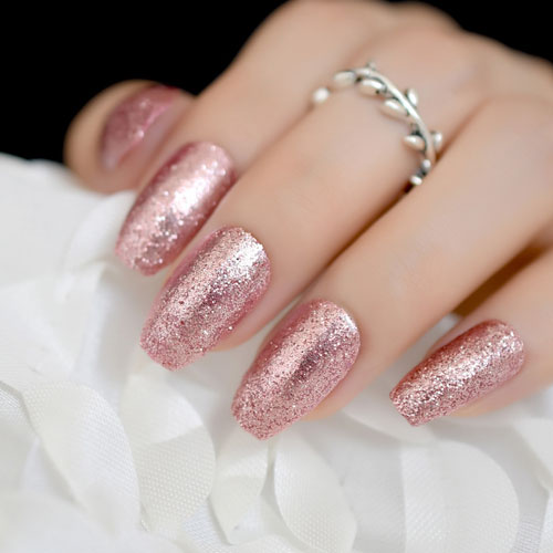 35 Gorgeous Rose Gold Nails Perfect For Any Event 2020 Guide