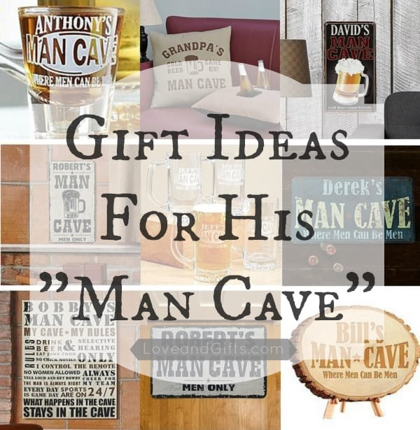 Gift Ideas For His Man Cave