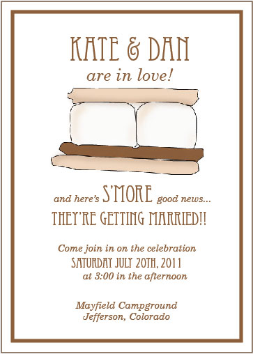 S More Wedding Invitation Suite Free