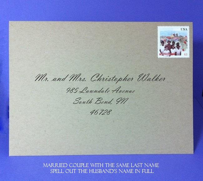 Proper Wedding Invitation Format