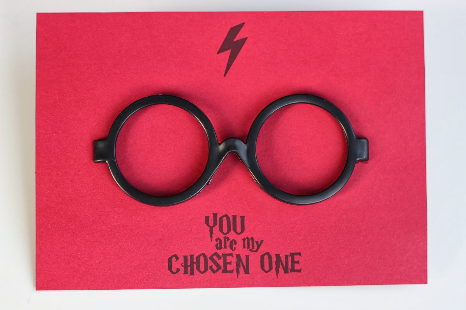 Harry Potter Valentines Card Free Printable