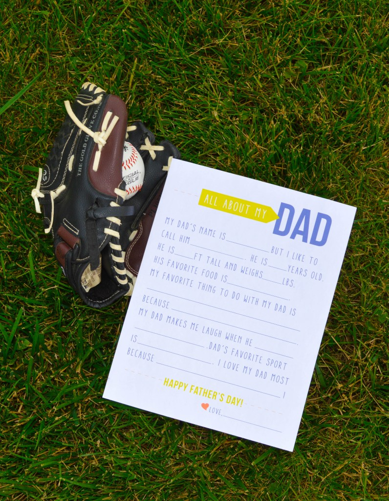 Free Father's Day Printable