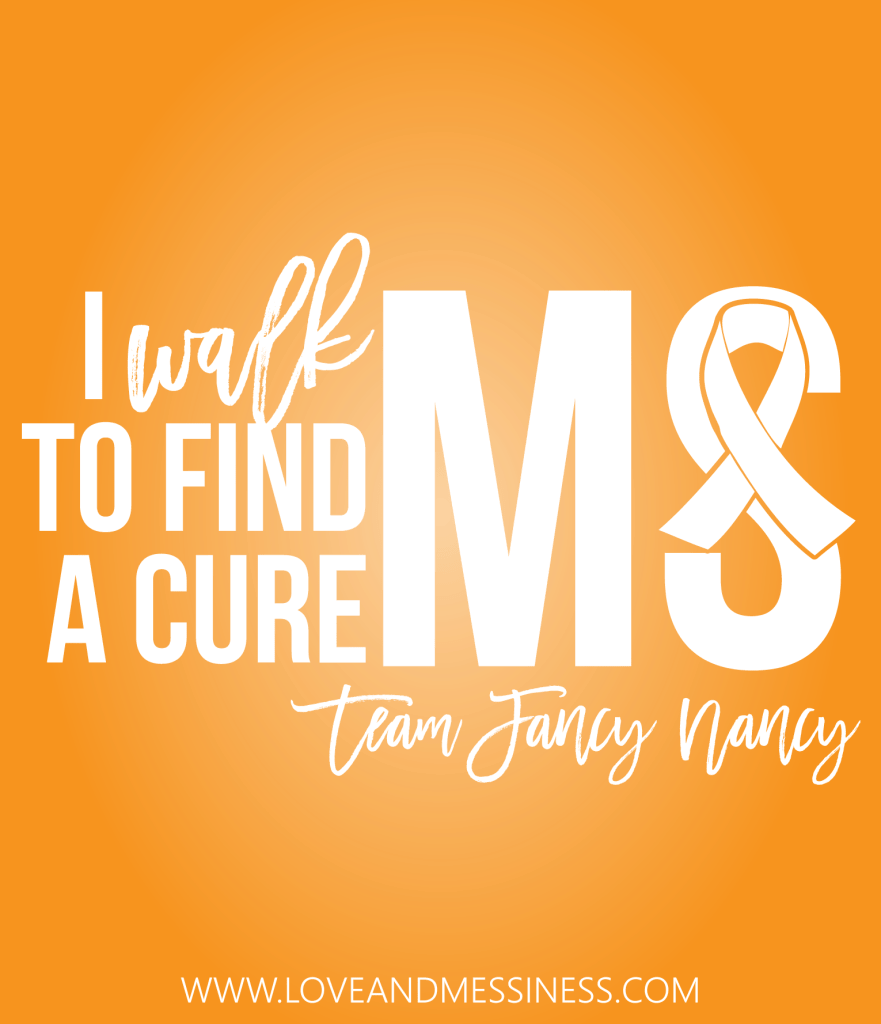 2017 Walk MS | www.loveandmessiness.com