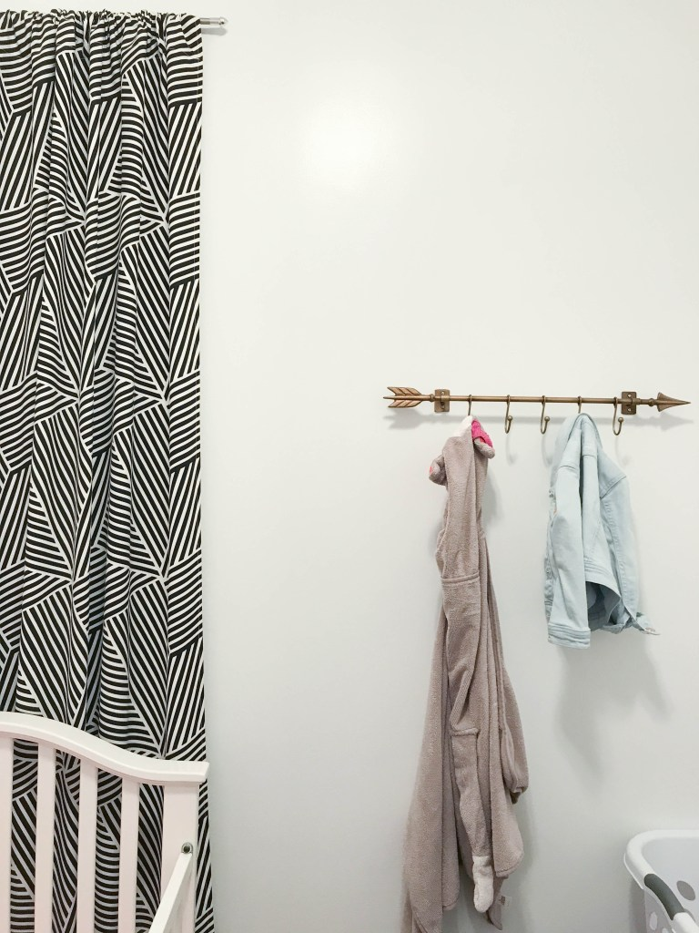 Minimal Toddler Bedroom | www.loveandmessiness.com