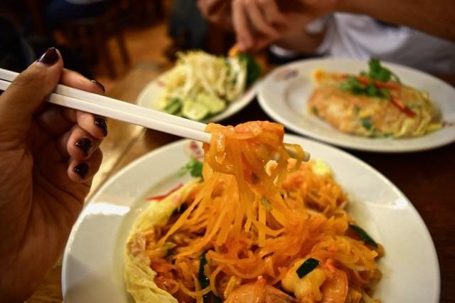 thip samai, best pad thai