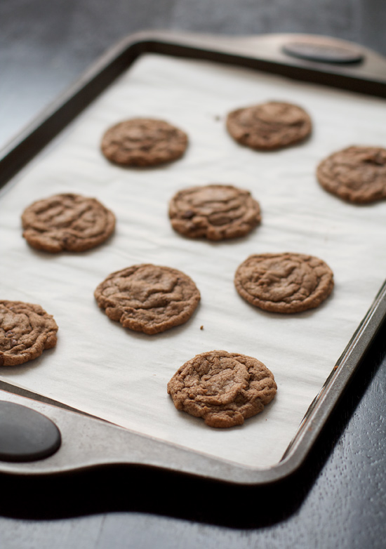 Nutella Chocolate Chip Cookies