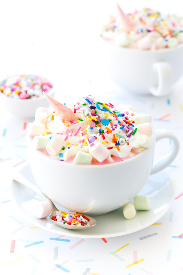 Image result for unicorn hot chocolate