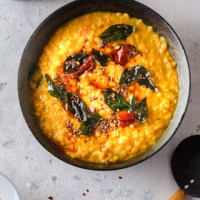 Sri Lankan red lentil dal