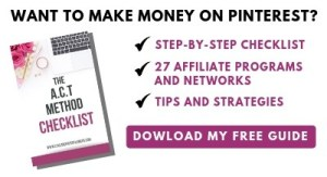 How to make money on Pinterest fast using the A.C.T Method