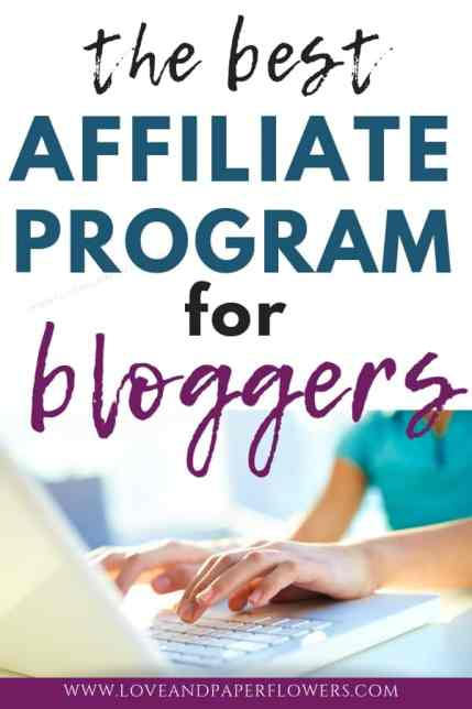 Best affiliate program for Blogger of all niches