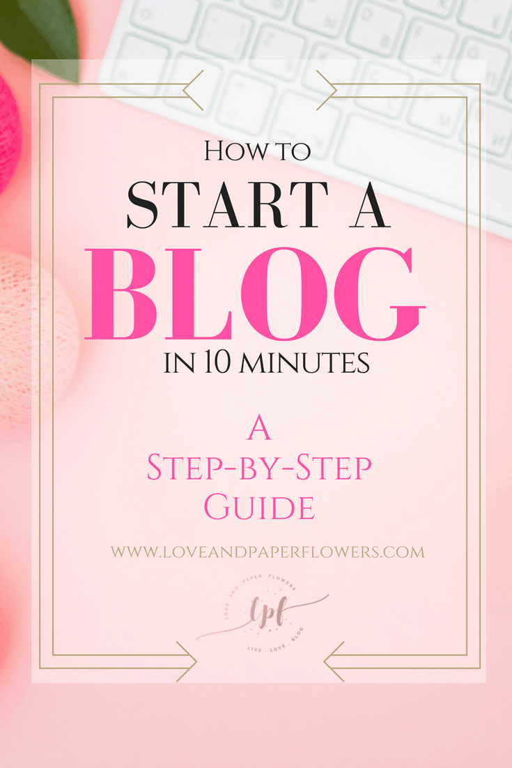 How to Start a Blog in 10 Minutes: A Step-by-Step Tutorial Using BlueHost. If you are looking to start a blog but have no idea where to begin, I've put together a step-by-step guide on