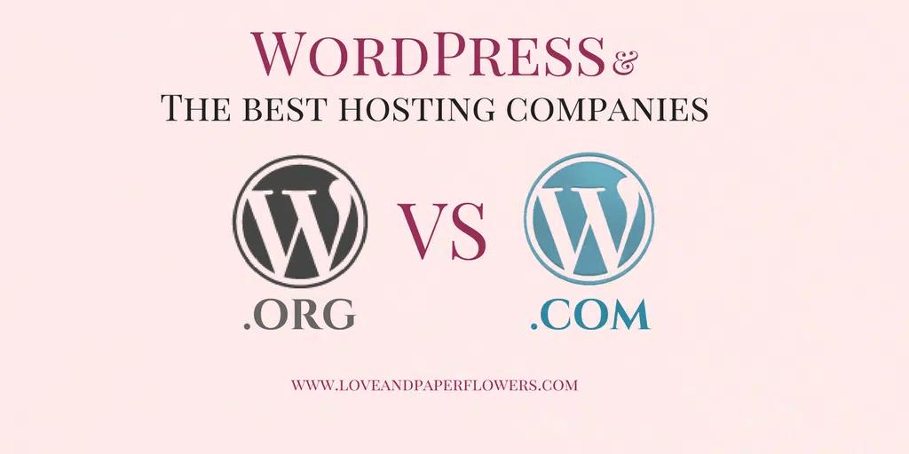 WordPress.com vs WordPress.org, Plus the Best WordPress.org Hosting for Bloggers