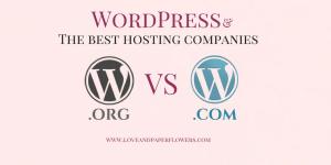 WordPress.com vs WordPress.org, Plus the best hosting providers for Bloggers