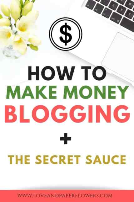 "Here is the full scoop on how to make money blogging. In this ""How to Make Money Blogging for Beginners Guide"" you will find everything you need to know to start making money from home in no time. #makenoneyblogging #makemoney #passiveincome #makemoneyfromhome #startablog #sidehusle"