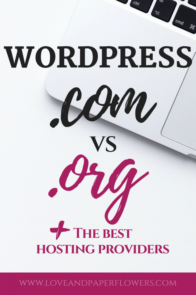 If who want to start a blog, understanding the fundamental differences between WordPress.com vs WordPress.org, are crucial starting a running successful blog, especially if you are looking to make money blogging. In addition, we will cover some of the best hosting providers for bloggers so that you start a blog the right way! #startablog #hostingproviders #hosting #besthosting #wordpress #worpressforbloggers #wordpress101