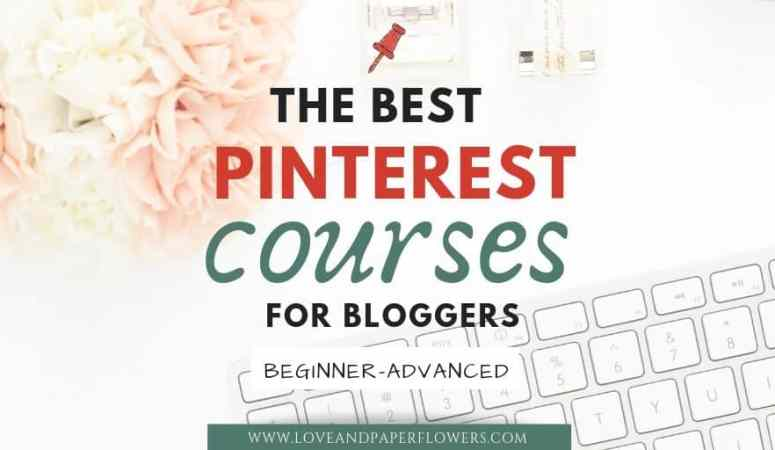 The Best Pinterest Courses for Bloggers in 2019 (Beginner-Advanced)