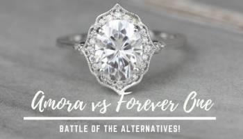 Moissanite vs  Diamond | Love & Promise Blog
