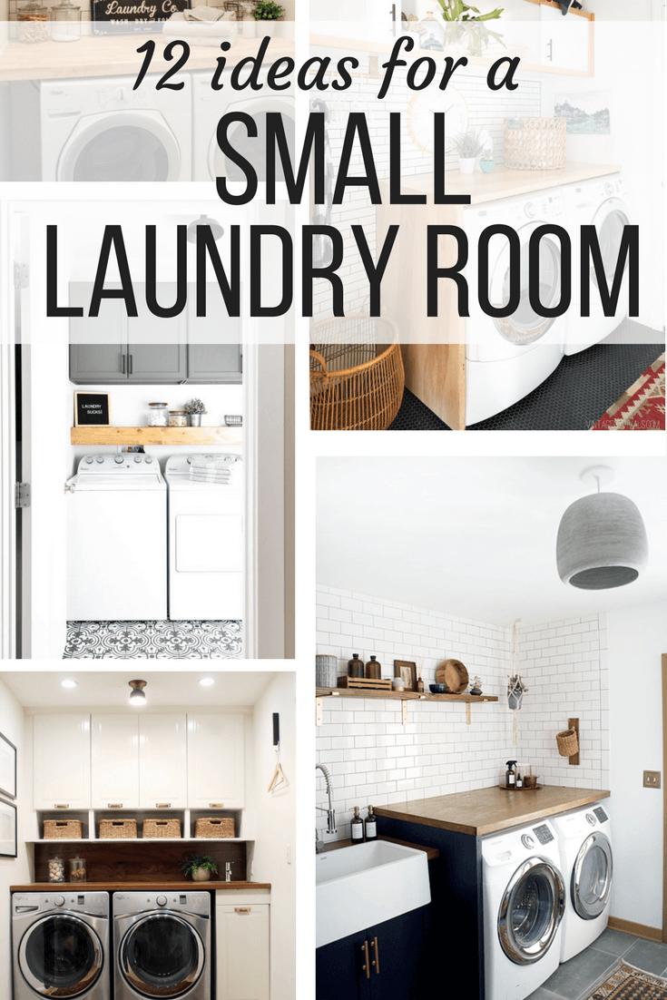 12 Inspiring Small Laundry Room Ideas Love Renovations