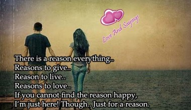 There Is A Reason Everything