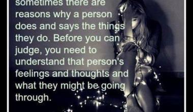 Always be Considerate of People's Feelings