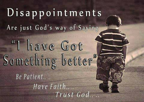 Be Patient Have Faith Trust God