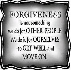 Forgiveness is Not Something We Do For Other People