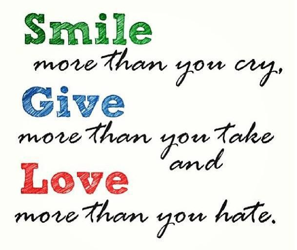 Smile More Than You Cry