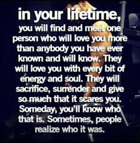 You Will Find And Meet Someone