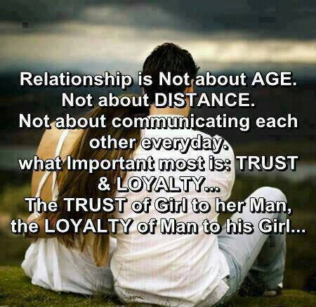 Realtionship Not About Age Not About Distance