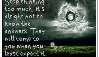 They Will Come To You When You least Expect It