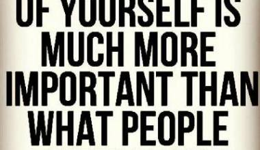 What You Think Of yourself Is Much more important Than ...