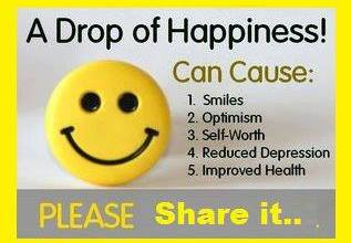 A Drop of Happiness !